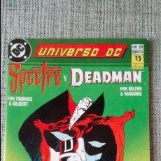 Cómics: SPECTRE Y DEADMAN UNIVERSO DC EDICIONES ZINCO. Lote 131547486