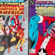 Cómics: EL FIN DE LA LIGA DE LA JUSTICIA AMERICA UNIVERSO DC EDICIONES ZINCO. Lote 131547678
