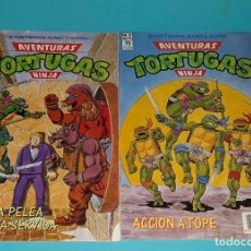 Cómics: AVENTURAS TORTUGAS NINJA #12 #21. Lote 131588154
