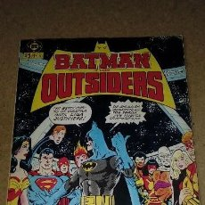 Cómics: BATMAN Y LOS OUTSIDERS Nº 1 RETAPADO DEL Nº 1 AL 5. Lote 131647418