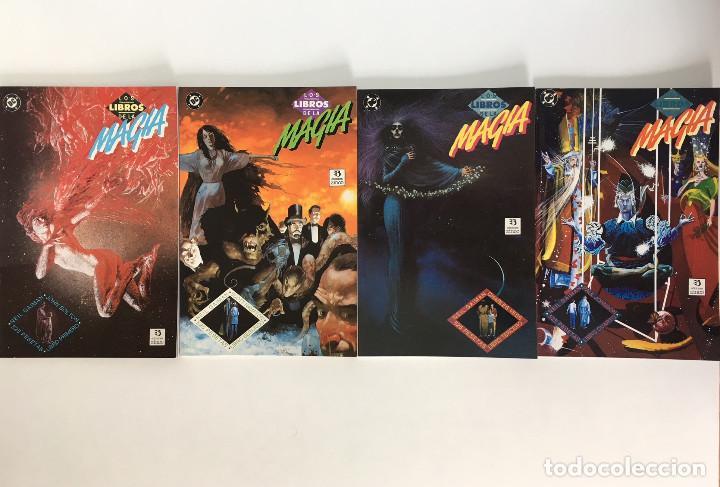 LOS LIBROS DE LA MAGIA DE NEIL GAIMAN, BOLTON, VESS, HAMPTON Y JOHNSON. COLECCIÓN COMPLETA 4 TOMOS. (Tebeos y Comics - Zinco - Prestiges y Tomos)