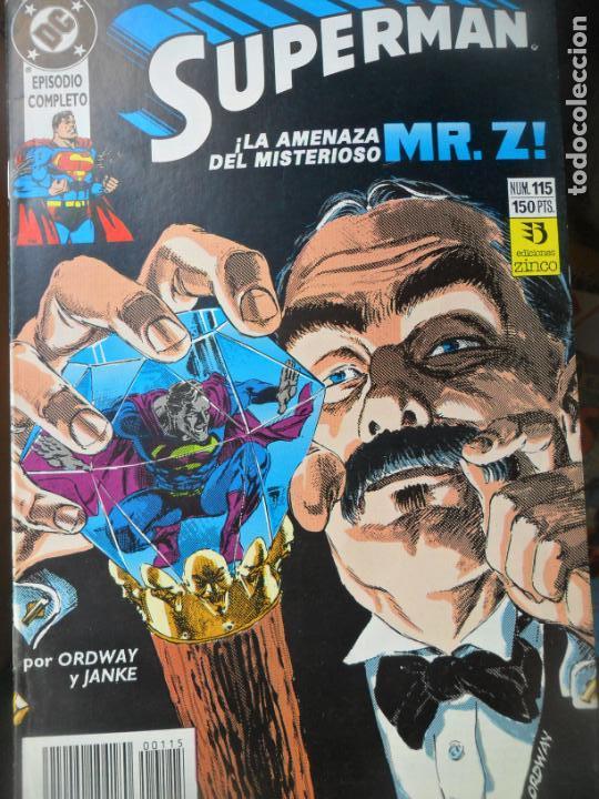 SUPERMAN Nº 115 - 2ª SERIE - ZINCO DC COMICS - (Tebeos y Comics - Zinco - Superman)
