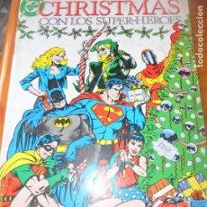 Cómics: CHRISTMAS CON LOS SUPER-HEROES - ESPECIAL Nº 1 - 52 PGNAS. - ZINCO DC COMICS -. Lote 131769546