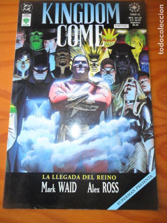 KINGDOM COME - TOMO Nº 3 - VID DC COMICS - (Tebeos y Comics - Zinco - Prestiges y Tomos)