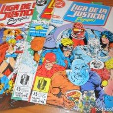 Comics: LIGA DE LA JUSTICIA EUROPA Nº 1, 2 & 3 - ZINCO DC COMICS - . Lote 131770086