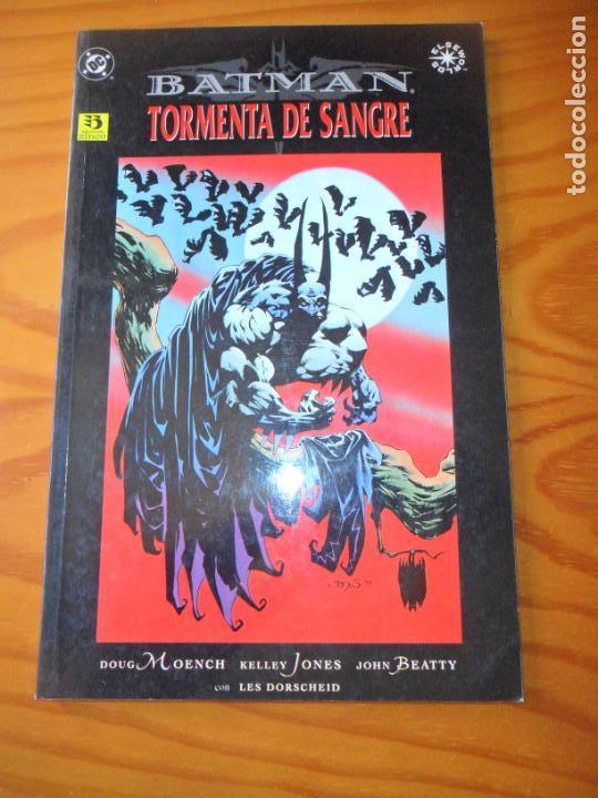 BATMAN, TORMENTA DE SANGRE - TOMO OTROS MUNDOS - MOECH/ JONES- ZINCO (Tebeos y Comics - Zinco - Batman)
