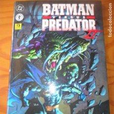 Comics: BATMAN VERSUS PREDATOR II - TOMO OTROS MUNDOS - MOECH/ GULACY - ZINCO . Lote 131816474