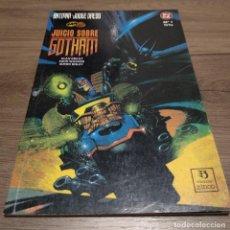 Cómics: BATMAN / JUEZ DREDD - JUICIO SOBRE GOTHAM. Lote 131898674