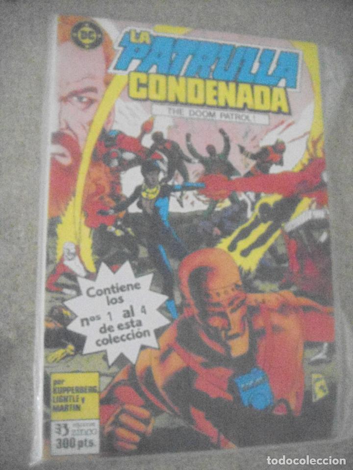 LA PATRULLA CONDENADA Nº 1 AL 4 - TOMO 1 ED. ZINCO (Tebeos y Comics - Zinco - Patrulla Condenada)