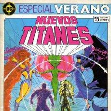 Cómics: LOS NUEVOS TITANES: ESPECIAL VERANO 1984. Lote 132204046