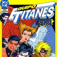 Cómics: EQUIPO TITANES: ORÍGENES SECRETOS. Lote 132205082