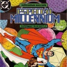 Cómics: ESPECIAL MILLENNIUM Nº 7 SUPERMAN Y BLUE BEETLE - ZINCO - BUEN ESTADO. Lote 132229382