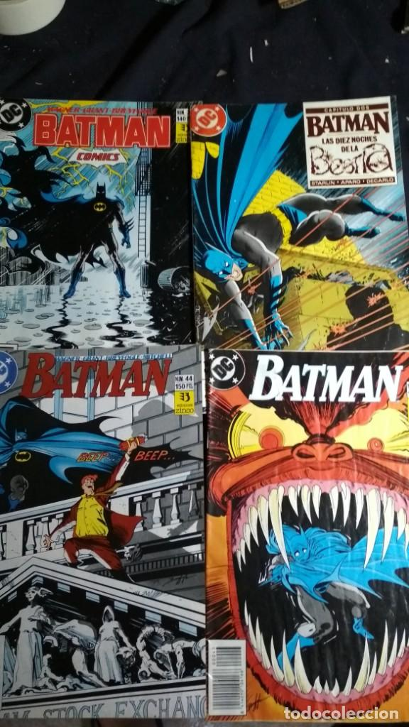 LOTE COMICS BATMAN VER FOTOS (Tebeos y Comics - Zinco - Batman)