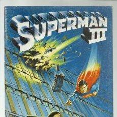 Cómics: SUPERMAN III, FIEL ADAPTACIÓN DEL FILM, 1984, ZINCO, BUEN ESTADO. Lote 206834683