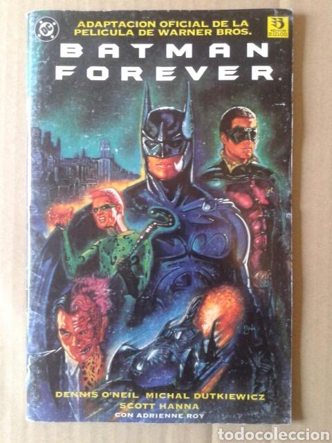BATMAN FOREVER / ADAPTACIÓN DE LA PELÍCULA (ZINCO EDICIONES, 1995). POR O'NEIL Y DUTKIEWICZ (Tebeos y Comics - Zinco - Batman)