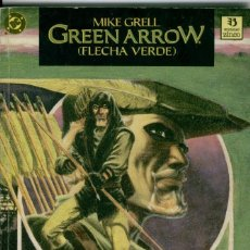 Cómics: GREEN ARROW, EL CAZADOR ACECHA, TRES TOMOS, COMPLETA. Lote 155907238