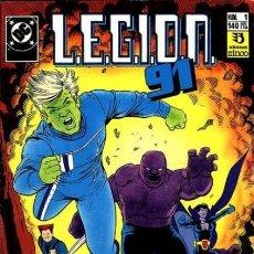 Cómics: LEGION 91 Nº 1 - ZINCO - BUEN ESTADO. Lote 132765954
