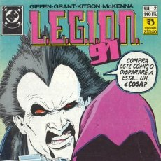 Cómics: LEGION 91 Nº 2 - ZINCO - BUEN ESTADO. Lote 132766026