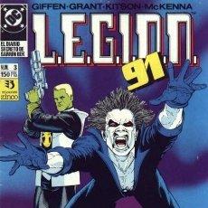 Cómics: LEGION 91 Nº 3 - ZINCO - BUEN ESTADO. Lote 132766134