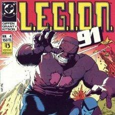 Cómics: LEGION 91 Nº 4 - ZINCO - BUEN ESTADO. Lote 132766198