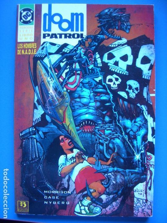 Cómics: DOOM PATROL: LOS HOMBRES DE NADIE #1-2 (ZINCO, 1995) - Foto 3 - 129427427