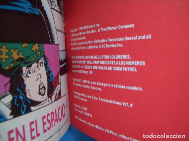Cómics: DOOM PATROL: LOS HOMBRES DE NADIE #1-2 (ZINCO, 1995) - Foto 5 - 129427427