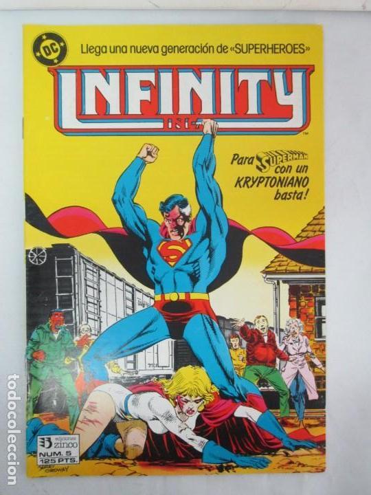Cómics: INFINITY INC. EDICIONES ZINCO. Nº DEL 1 AL 9. 1986. COMICS - Foto 6 - 132899870