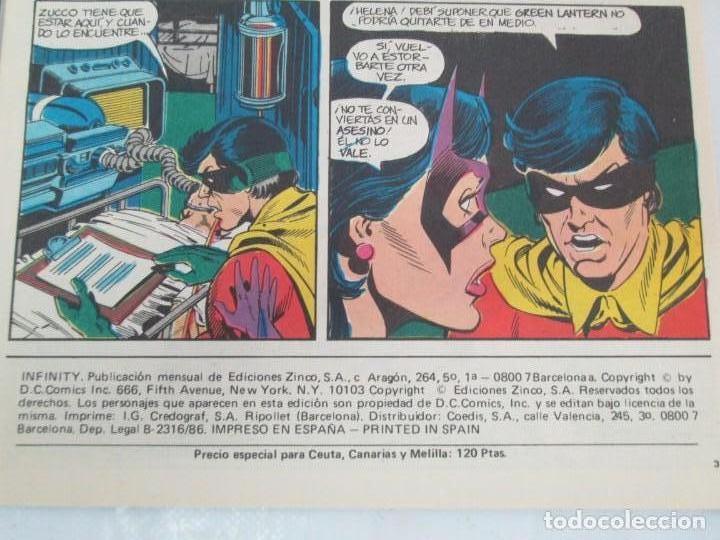Cómics: INFINITY INC. EDICIONES ZINCO. Nº DEL 1 AL 9. 1986. COMICS - Foto 7 - 132899870