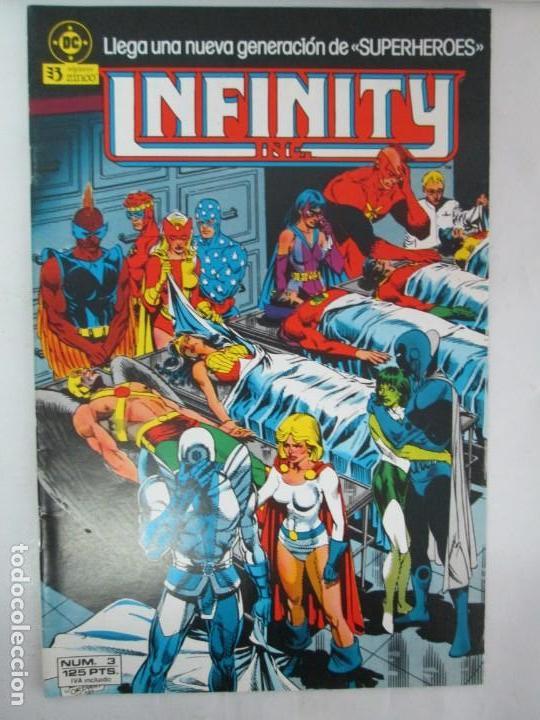 Cómics: INFINITY INC. EDICIONES ZINCO. Nº DEL 1 AL 9. 1986. COMICS - Foto 13 - 132899870