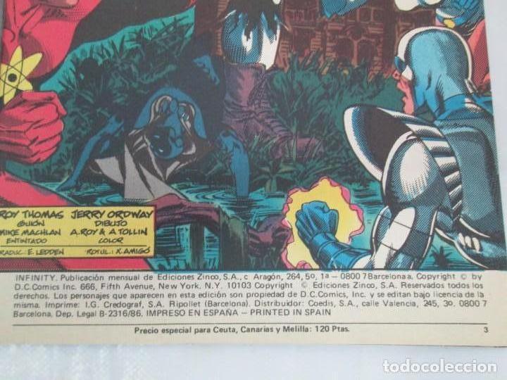 Cómics: INFINITY INC. EDICIONES ZINCO. Nº DEL 1 AL 9. 1986. COMICS - Foto 14 - 132899870