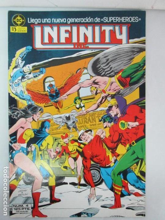 Cómics: INFINITY INC. EDICIONES ZINCO. Nº DEL 1 AL 9. 1986. COMICS - Foto 20 - 132899870