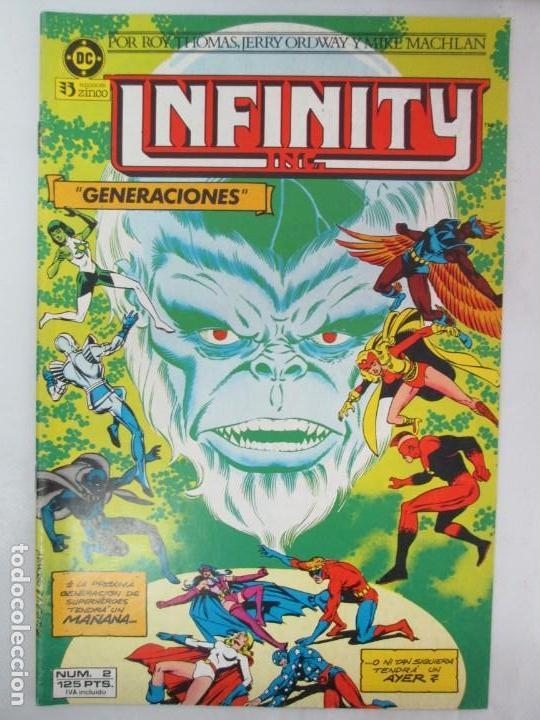 Cómics: INFINITY INC. EDICIONES ZINCO. Nº DEL 1 AL 9. 1986. COMICS - Foto 29 - 132899870