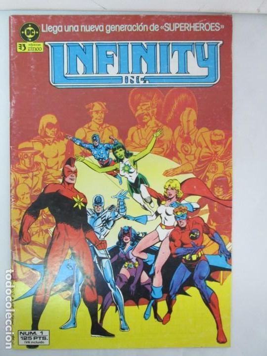 Cómics: INFINITY INC. EDICIONES ZINCO. Nº DEL 1 AL 9. 1986. COMICS - Foto 37 - 132899870