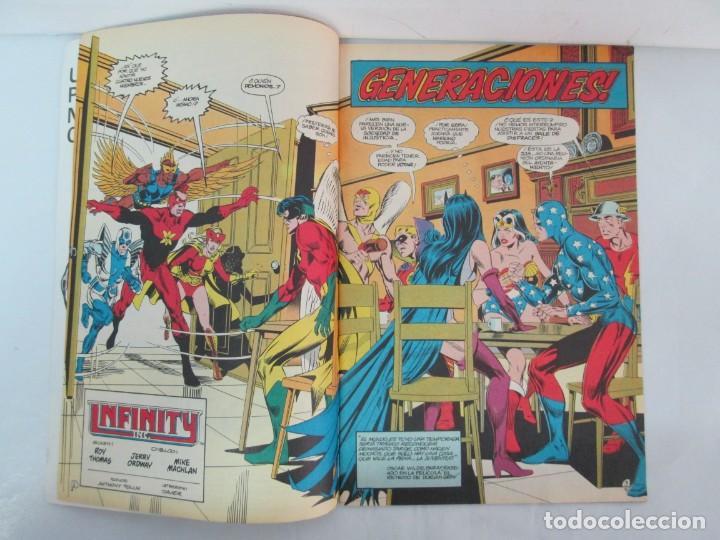 Cómics: INFINITY INC. EDICIONES ZINCO. Nº DEL 1 AL 9. 1986. COMICS - Foto 39 - 132899870