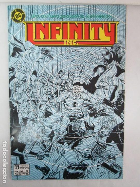 Cómics: INFINITY INC. EDICIONES ZINCO. Nº DEL 1 AL 9. 1986. COMICS - Foto 44 - 132899870