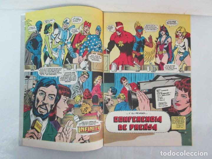 Cómics: INFINITY INC. EDICIONES ZINCO. Nº DEL 1 AL 9. 1986. COMICS - Foto 45 - 132899870