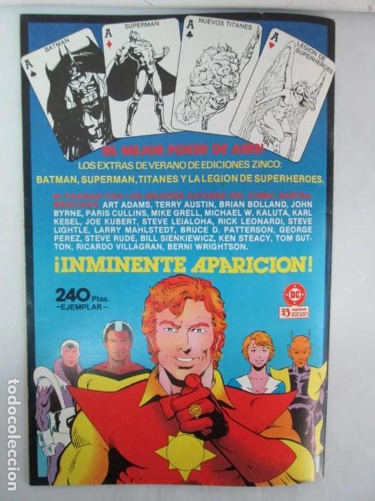 Cómics: INFINITY INC. EDICIONES ZINCO. Nº DEL 1 AL 9. 1986. COMICS - Foto 50 - 132899870