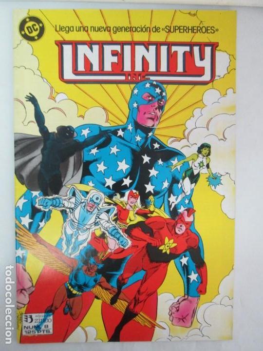 Cómics: INFINITY INC. EDICIONES ZINCO. Nº DEL 1 AL 9. 1986. COMICS - Foto 51 - 132899870