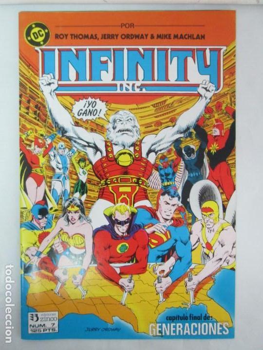 Cómics: INFINITY INC. EDICIONES ZINCO. Nº DEL 1 AL 9. 1986. COMICS - Foto 59 - 132899870