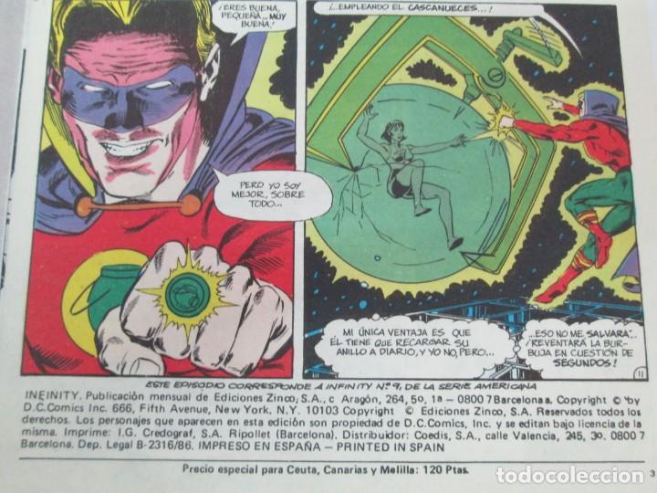 Cómics: INFINITY INC. EDICIONES ZINCO. Nº DEL 1 AL 9. 1986. COMICS - Foto 60 - 132899870