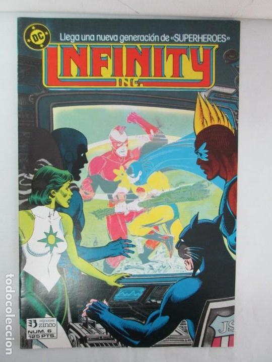 Cómics: INFINITY INC. EDICIONES ZINCO. Nº DEL 1 AL 9. 1986. COMICS - Foto 67 - 132899870