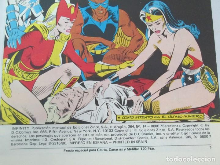 Cómics: INFINITY INC. EDICIONES ZINCO. Nº DEL 1 AL 9. 1986. COMICS - Foto 68 - 132899870