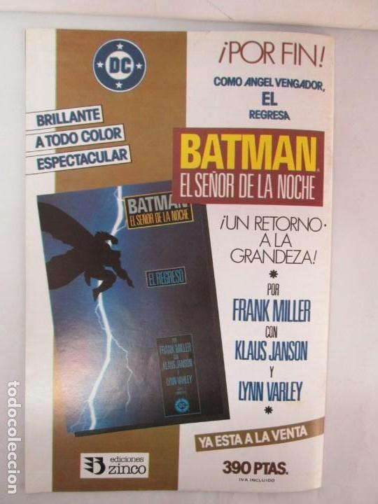 Cómics: INFINITY INC. EDICIONES ZINCO. Nº DEL 1 AL 9. 1986. COMICS - Foto 74 - 132899870