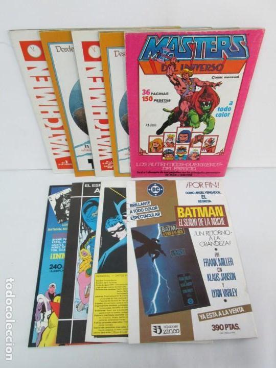 Cómics: INFINITY INC. EDICIONES ZINCO. Nº DEL 1 AL 9. 1986. COMICS - Foto 75 - 132899870