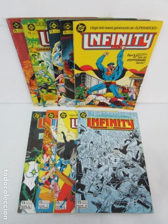 INFINITY INC. EDICIONES ZINCO. Nº DEL 1 AL 9. 1986. COMICS (Tebeos y Comics - Zinco - Infinity Inc)