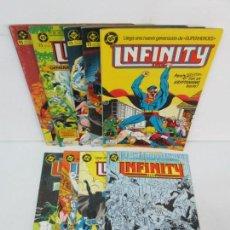 Cómics: INFINITY INC. EDICIONES ZINCO. Nº DEL 1 AL 9. 1986. COMICS. Lote 132899870