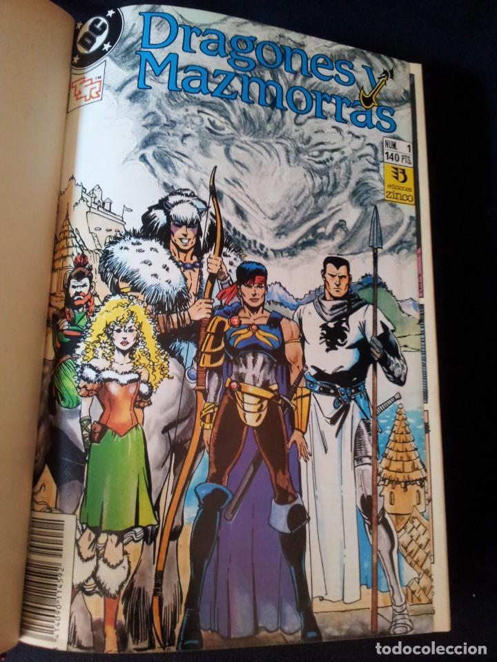 Cómics: DRAGONES Y MAZMORRAS - 12 NUMEROS, EDICIONES ZINCO AMERICANA + 4 NUMEROS CORMAC MAC ART - NORMA EDIT - Foto 3 - 133267786