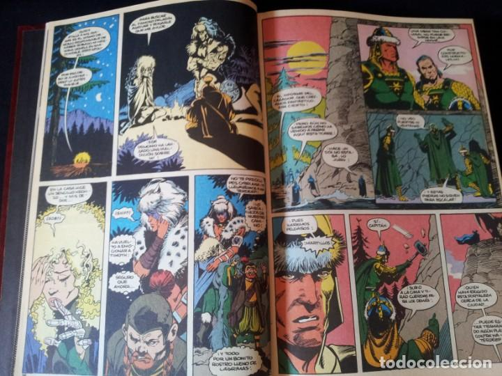 Cómics: DRAGONES Y MAZMORRAS - 12 NUMEROS, EDICIONES ZINCO AMERICANA + 4 NUMEROS CORMAC MAC ART - NORMA EDIT - Foto 4 - 133267786