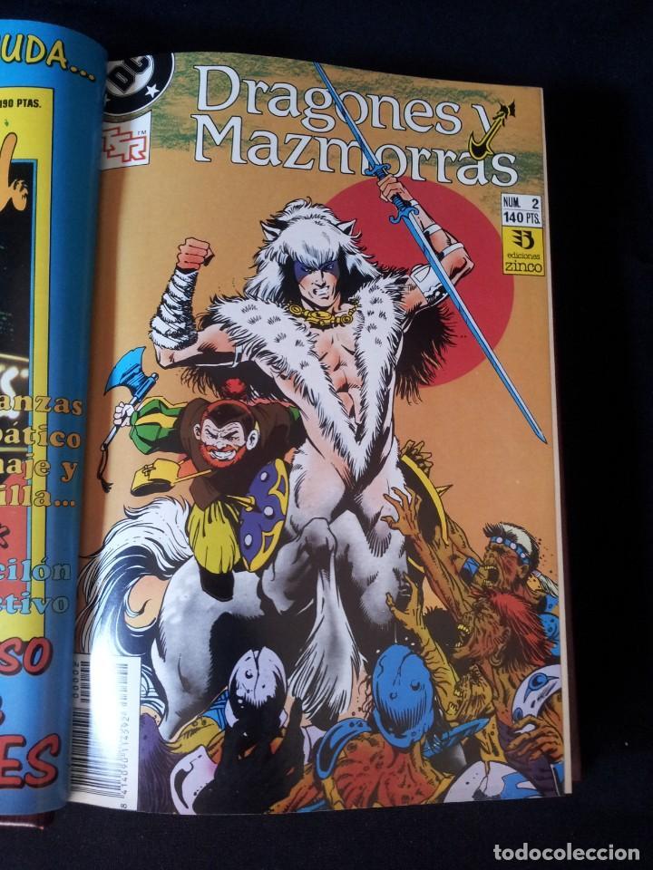 Cómics: DRAGONES Y MAZMORRAS - 12 NUMEROS, EDICIONES ZINCO AMERICANA + 4 NUMEROS CORMAC MAC ART - NORMA EDIT - Foto 5 - 133267786