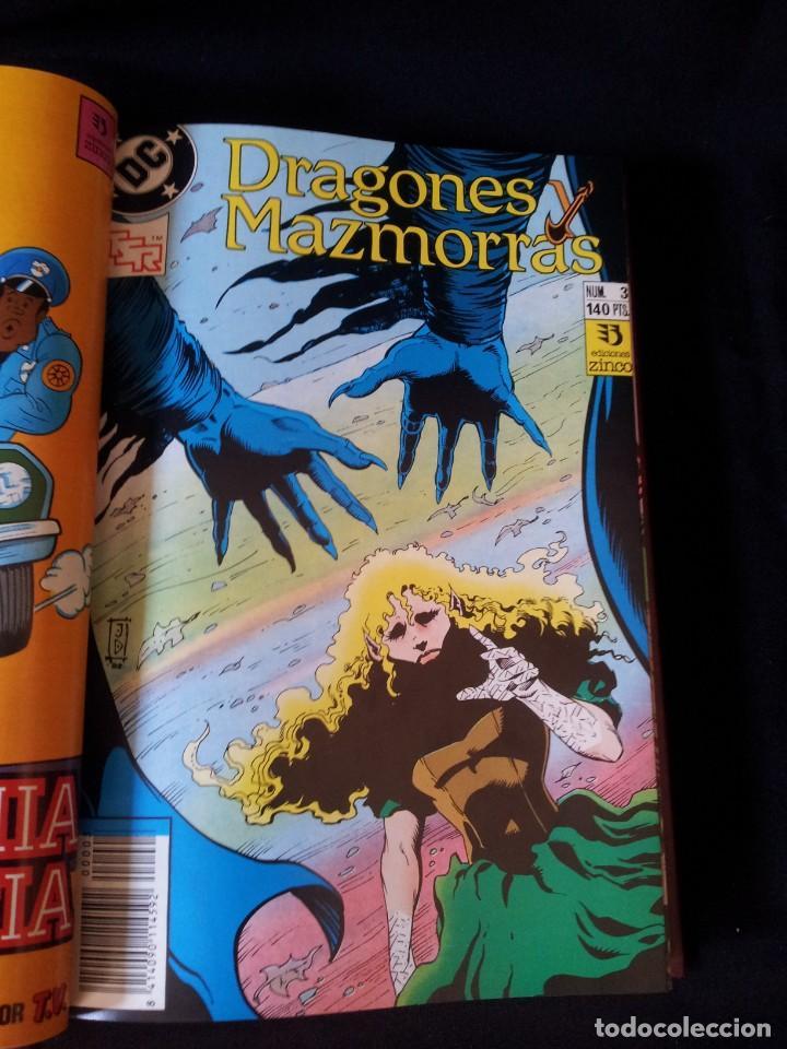 Cómics: DRAGONES Y MAZMORRAS - 12 NUMEROS, EDICIONES ZINCO AMERICANA + 4 NUMEROS CORMAC MAC ART - NORMA EDIT - Foto 7 - 133267786
